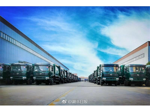 100 units of compressed garbage trucks export to Srilanka
