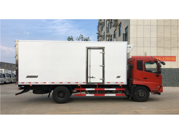 10t refrigerator truck with meet hook for cold chain transportation