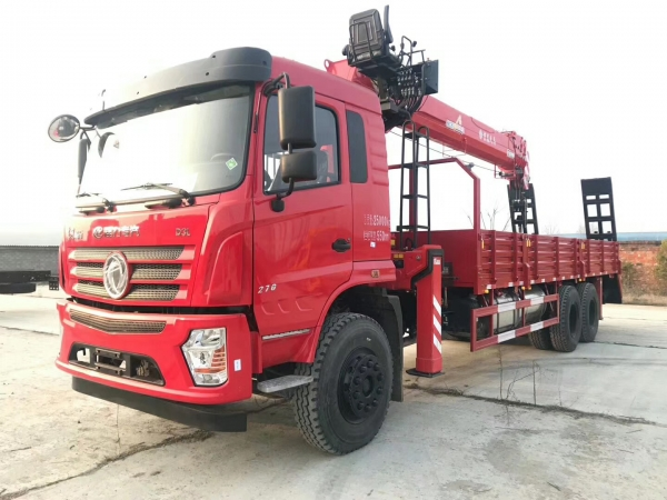Chengli 8X4 12-14tons truck with crane for sale