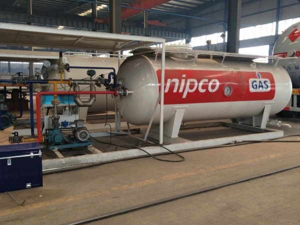 20,000L LPG skid mounted refueling station for sale