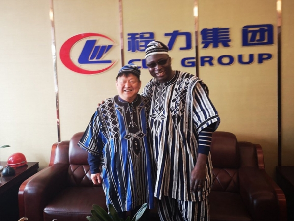 West African Togo government procurement official visits Chengli factory