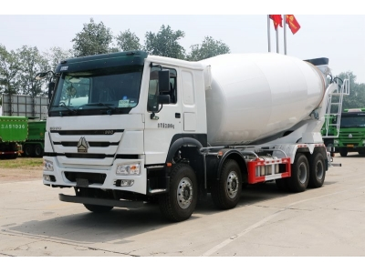 HOWO 12 wheels heavy duty 16m3 cement mixer truck