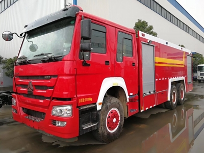 SINOTRUK HOWO 6x4 12t to 15t fire engine