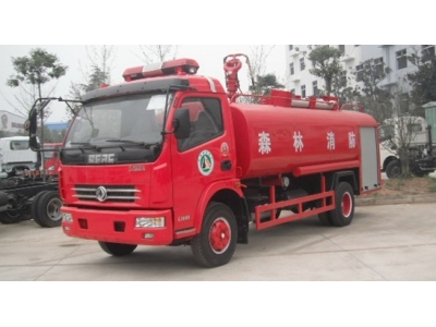 Dongfeng 6t water tank fire fighting vehilce
