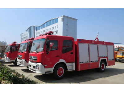 Dongfeng double cab 8t fire engine vehicle