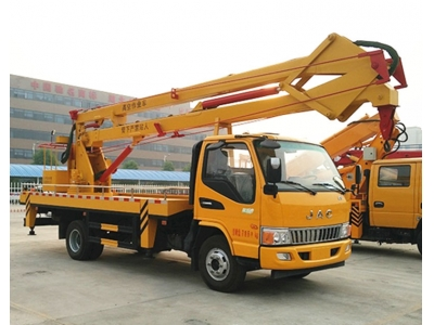 JAC folding arm 16m aerial working vehicle