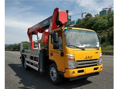 JAC straight arm 20m overhead working truck