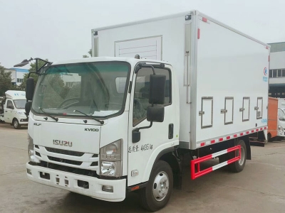 ISUZU poultry and fowl  transport vehicle