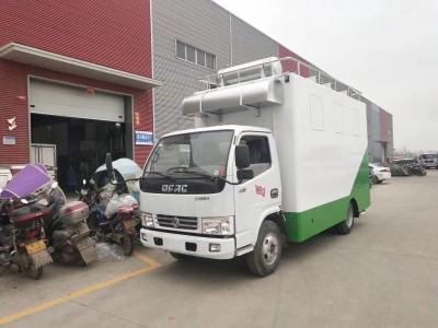 Dongfeng 5t mobile catering vehilce