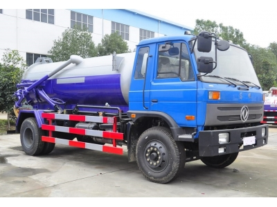 8 tons vacuum sewage suction truck for sale