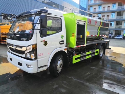 Dongfeng 7m3 cleanout and suction-type sewer scavenger truck
