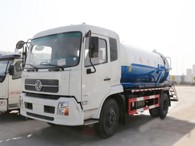 Dongfeng 4x2 10,000L suction sewer truck
