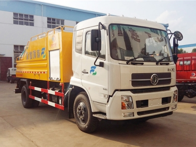 4x2 8CBM Sewer suction and clean truck