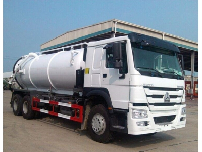 HOWO 6x4 16m3 vacuum seswage suction truck